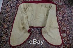 1785 Chintz Hooded Cape for a Robe á la Polonaise, rococo dress, antique dress