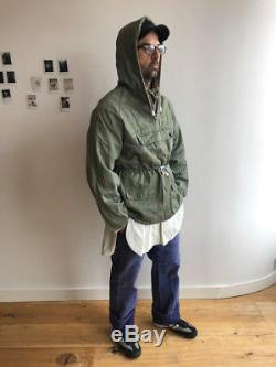 1950s British Hooded Anorak Mountaineering Smock, Military, Workwear