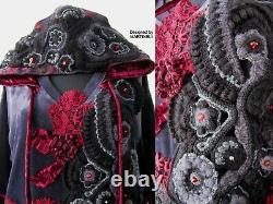 2XL Plus Size Velvet Hooded Sweatshirt Dress, Oversized Denim Hoodie, Boho Hoodie