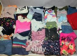 35pc Girls Spring Summer Clothes Lot SIZE 14-16 Under Armour Justice Guess etc