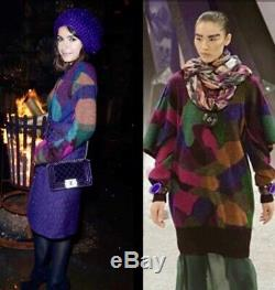 $4470 New 12a CHANEL 2012 Midi Mini 12a Long Cardigan Top Dress 36 38 40 4 M 6 8