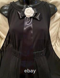 $4500 CHANEL Paris Greece 09p DRESS CAPE 38 40 42 6 8 10 Jacket Blue Maxi M Top