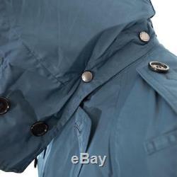 795 NEW BURBERRY LONDON Amberford Coat, 10/44/12, Trench, Rain, Air, LOGO Plaid, NWT