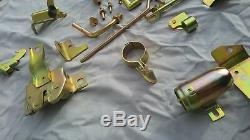 82-83 Datsun 280zx Under Hood Dress Up Kit Replated Nice Oem Parts