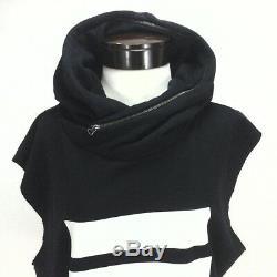 ADIDAS Berlin Dress Hooded Sweatshirt Trefoil 3 Stripe AB2671 Black/White S RARE