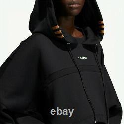 Adidas Ivy Park Black Hooded Cutout Dress NWT XS Extra Small Drip 2.2