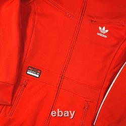 Adidas Originals Firebird Dress Jacket Red/White Size 40/M Rare