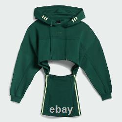 Adidas Originals x Beyonce IVY Park IVP Hooded Cut Out Dress Green(GR1444)