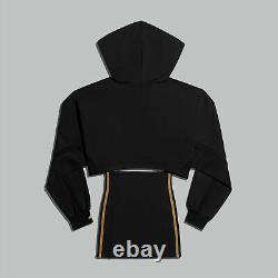 Adidas Originals x IVY Park Hooded Cut Out Dress Black(GR1445)