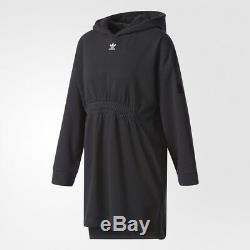 Adidas Women Originals Hooded Lettering Sweat Dress