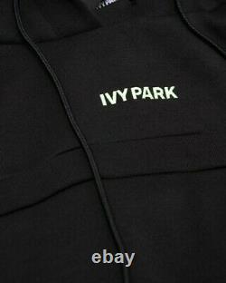 Adidas x Ivy Park Black Hooded Cutout Dress Size Small In Hand Ready To Ship