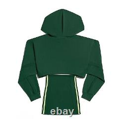 Adidas x Ivy Park Hooded Cutout Dress Dark Green Size Small Confirmed Order