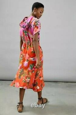Anthropologie Farm Rio Teresita Hooded Tunic Dress NWT S Tropical NWT Sold Out