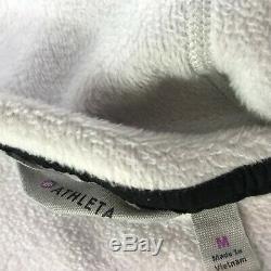 Athleta Cozy Karma Light Heather Gray Sweatshirt Long Dress Cozy Fleece Medium