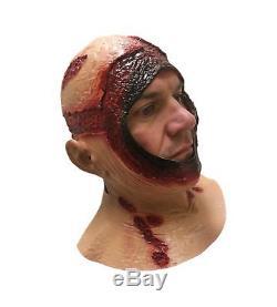 BLOODY HOOD MASK Overhead Latex Jason Halloween Horror Movie Fancy Dress Masks