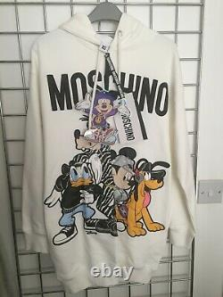 BNWT H&M Moschino Disney Collection Hooded Dress / Long Hoodie