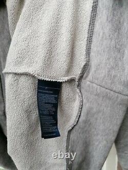 BNWT Womens Tommy Hilfiger Kristal Hooded Terry Sweat Dress Grey M rrp£115