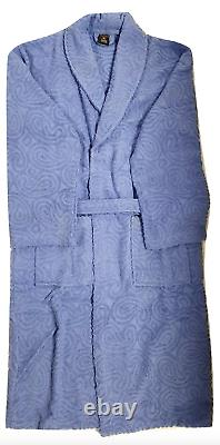 Bath Robe Unisex Toweling 100% Cotton Terry Towel Dressing Gown One Size Sleepin