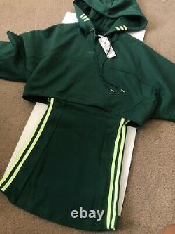 Beyonce Ivy Park x Adidas Green Hooded Cutout Dress Size M Comes With Both