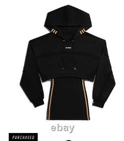 Beyonce Ivy Park x Adidas Hooded Black Cutout Dress SMALL. Confirmed Order