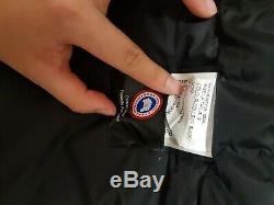 Black Authentic Canada Goose Montebello Jacket Women's Small