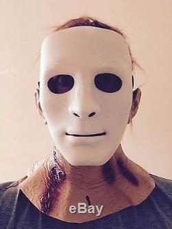 Bloody Hood Mask Latex Jason 2009 Remake Halloween Horror Fancy Dress Costume