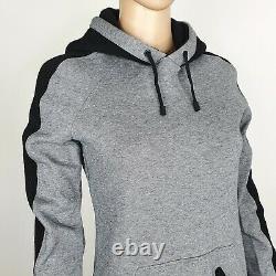 Burberry Sport Womens Grey Hooded A-Line Jersey Dress Size XS