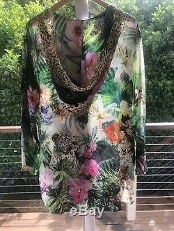 Camilla Amazonian Hooded Kaftan Dress