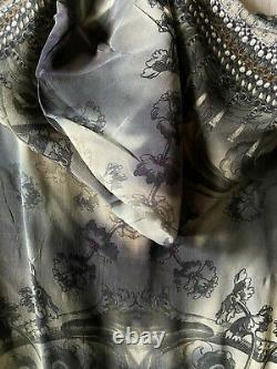 Camilla Franks Silk In The Shadows Hooded Kaftan Top Dress