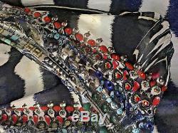 Camilla Franks Silk Swarovski Louwalan Tales Oversized Hooded Robe