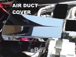Corvette C4 1992-1993 10 Pc AIR BOX AIR FILTER AIR DUCT Polished Stainless
