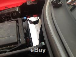Corvette C7 2014-2019 RADIATOR SURGE TANK COVER with CHROME CAP Polished Stainless