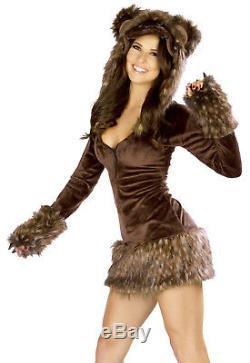 Deluxe Bear Costume J Valentine Bear Costume CS193 Teddy Bear Dress Hooded Dress