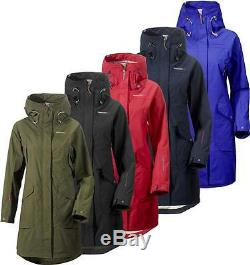 Didriksons Thelma Womens Coat Waterproof Windproof Longer Length