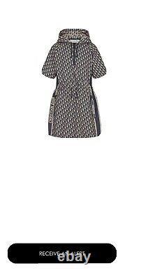 Dior Short Hooded Dress
