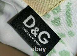 Dolce & Gabbana D&G Sunflower Batwing Mini Dress with Hood sz L UK10-12US8EU38