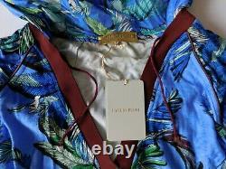 Emilio Pucci Dress It 42, Uk 10 Us 8 Jungle Print, Hooded Cover Up Tunic, Bnwt