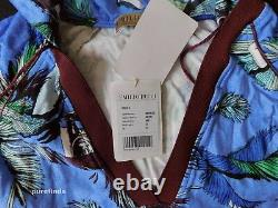 Emilio Pucci Dress, Kaftan It 40, Uk 8, Us 6 Jungle Print, Hooded Cover Up, Bnwt