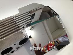 Fits Corvette C4 1985-1991 4 Pc DISTRIBUTOR COVER COVER Stainless steel chrome