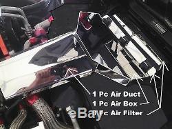 Fits Corvette C4 1991 L98 10 Pc AIR BOX AIR DUCT AIR FILTER Stainless chrome