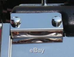 Fits Corvette C4 1992 4 Pc FUEL RAIL INTAKE MAP SENSOR Stainless steel chrome