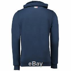 France Full Zip Hoodie Dress Blue Mens Le Coq Sportif