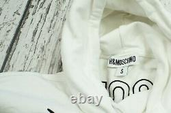 H&M Moschino Disney Collection S Hooded Dress / Long Hoodie White