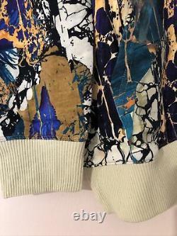 H&M Studio 2020 Fall Colorfull Long Longline Oversized Hoodie Top Uk S 8 10 12