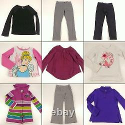 Huge Lot Girls Small Fall Winter Clothes 6 6X Childrens Kids Tops Pants Sweaters