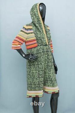 IVKO Jumper Dress 100 % Extrafine Lambswool Hooded L/40