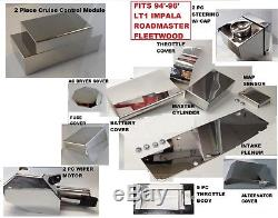 Impala1994-1996 LT1 20 Pc ENGINE COVER KIT chrome dress up Roadmaster Fleetwood