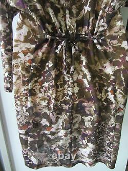 Isabel Marant linen dress with a hood, size S, AUS 8-10, NWT