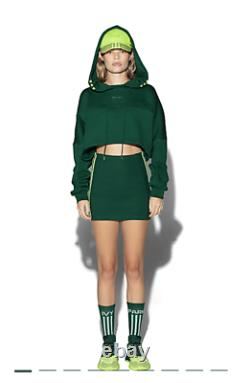 Ivy Park Hooded Cutout Dress XL Adidas