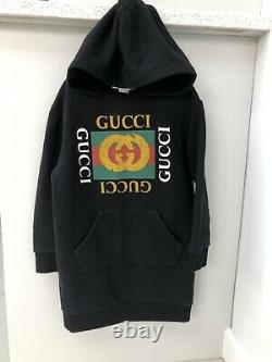 Kids gucci dress Jumper Sweatshirt Dress Logo £260 Current Stock Age 6 Years